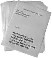 Picture of HouseLabels' brand – 1 Labels per Sheet