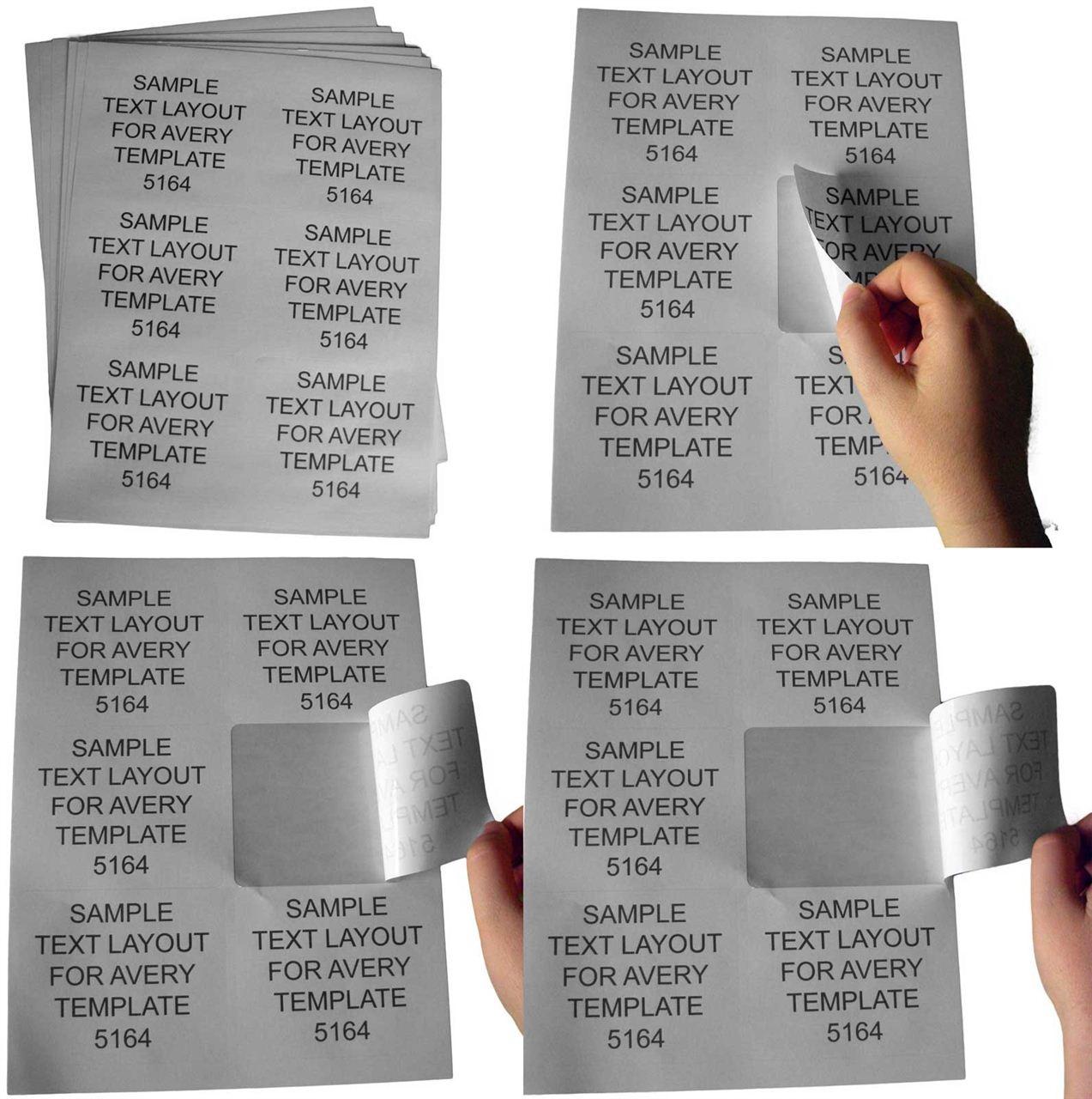 Self-adhesive labels for all printers - HouseLabels.com. Print ...
