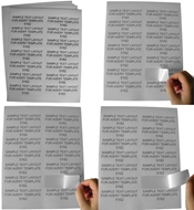 Picture of HouseLabels' brand – 14 Labels per Sheet (700 Sheets – Shipping Included)