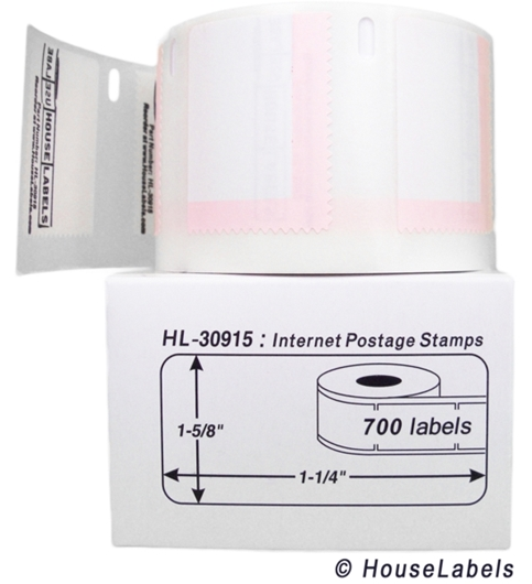Picture of Dymo - 30915-700 Internet Postage Labels (50 Rolls - Shipping Included)