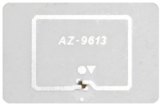 Picture of 19mm x 12.5mm Small Item (Alien Higgs 3 Chip) RFID Label