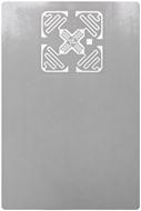"Picture of 4"" x 6"" (Impinj Monza 4E Chip) RFID Label"