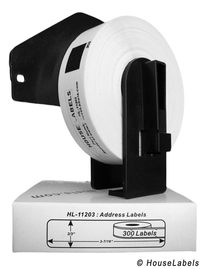 Picture of Brother DK-1203 (100 Rolls + Reusable Cartridge – Shipping Included)