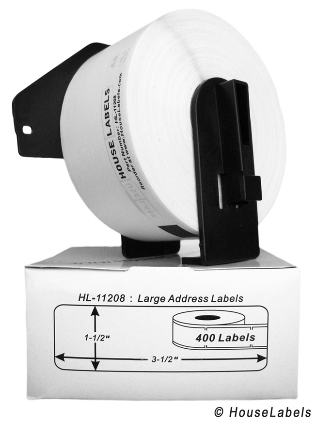 Picture of Brother DK-1208 (28 Rolls + Reusable Cartridge – Shipping Included)