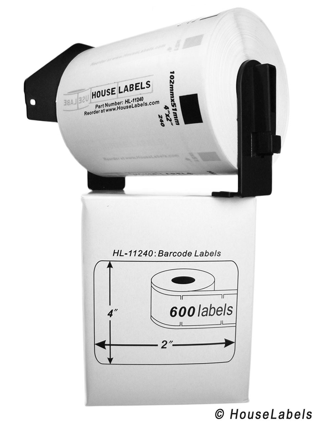 Picture of Brother DK-1240 (11 Rolls + Reusable Cartridge – Shipping Included)