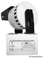 Picture of Brother DK-2223 (32 Rolls + Reusable Cartridge – Shipping Included)