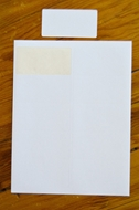 Picture of HouseLabels' brand, 10 Labels per Sheet, BLACKOUT technology (600 sheets, shipping included)