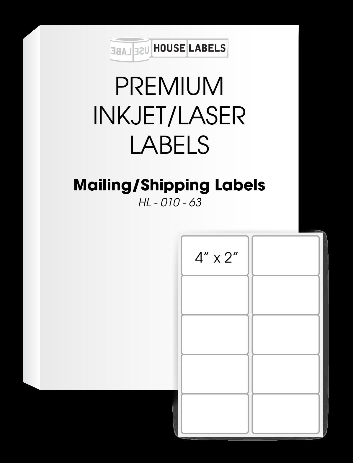 self adhesive labels for all printers houselabels com print