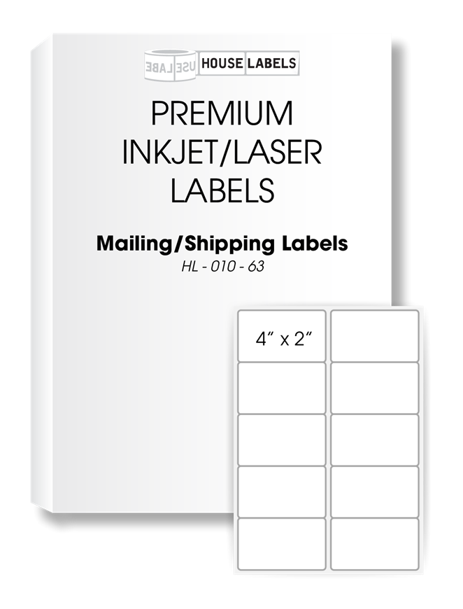 Picture of HouseLabels' brand, 10 Labels per Sheet