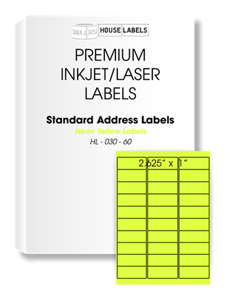 Self Adhesive Labels For All Printers Houselabels Labels For