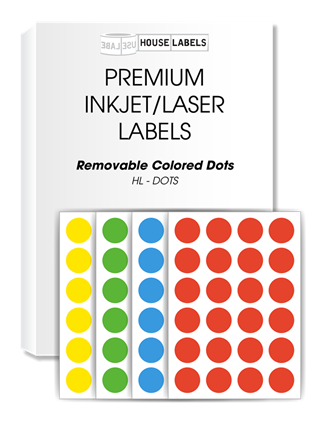 Picture for category Removable Colored Dots