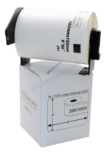 Picture of Brother DK-1241 (4 Rolls + Reusable Cartridge – Shipping Included)