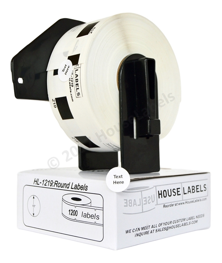 Picture of Brother DK-1219 (36 Rolls + 2 Reusable Cartridge – Shipping Included)