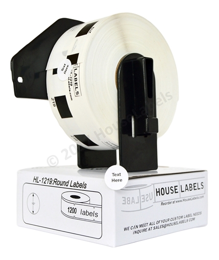Picture of Brother DK-1219 (56 Rolls + 2 Reusable Cartridge – Shipping Included)