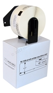 Picture of 12 Rolls, Brother DK-1209 (DK11209) with permanent cartridge