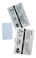 "Picture of 25 DYMO Compatible Cleaning Cards (60622) 2.1"" x 3.425"""