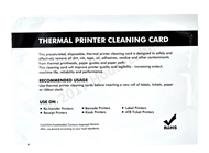 """Picture of 25 DYMO Compatible Cleaning Cards, 4"""" x 6"""" Used For DYMO 4XL Desktop Printers ( 1744907, 1785353 )"""