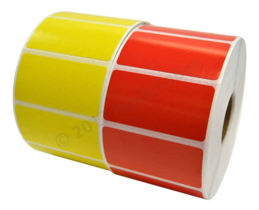 Picture of Zebra - 2x1 Combo Pack (16 Rolls - Your Choice - Red, Yellow and White) Free Shipping