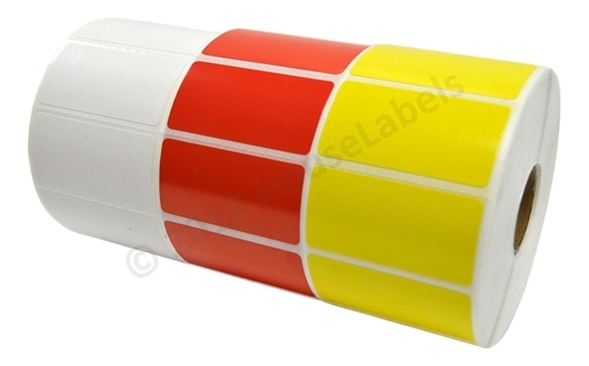 Picture of Zebra - 2x1 Combo Pack (35 Rolls - Your Choice - Red, Yellow and White) Free Shipping