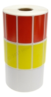 Picture of Zebra - 2x1 Combo Pack (50 Rolls - Your Choice - Red, Yellow and White) Free Shipping