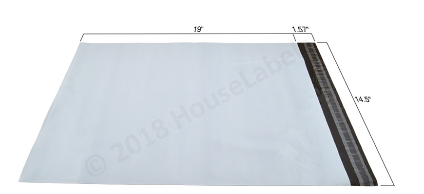 Picture of 200 Bags Poly Mailer 14.5X19 2.35 Mil Free Shipping