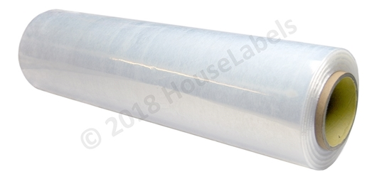 "Picture of 4 rolls 20"" x 1500' 80 Gauge Clear Pallet Wrap Handheld Stretch Film 1500 feet Free Shipping"