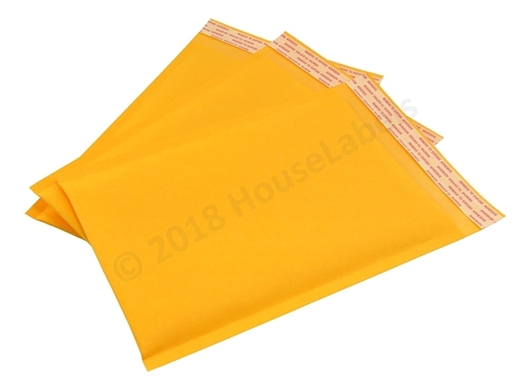 "Picture of 1000 Bags KRAFT Bubble Padded Envelope  6""x10"" (6""x9"" usable space) Free Shipping"