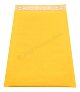 "Picture of 500 Bags KRAFT Bubble Padded Envelope 7.25""x12"" (7.25""x11"" usable space) Free Shipping"