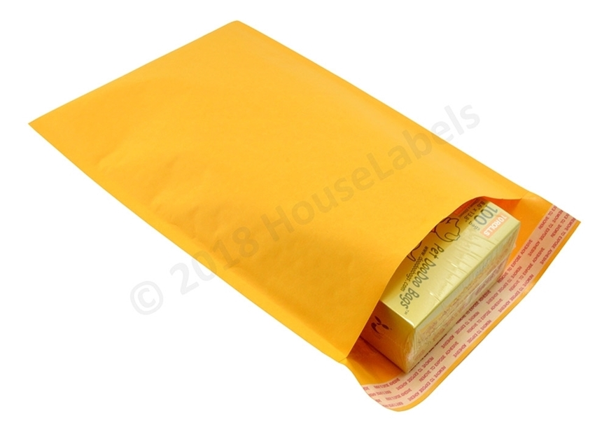 "Picture of 200 Bags KRAFT Bubble Padded Envelope  8.5""x14.5"" (8.5""x13.5"" usable space) Free Shipping"
