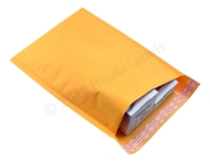 "Picture of 500 Bags KRAFT Bubble Padded Envelope  9.5""x14.5"" (9.5""x13.5"" usable space) Free Shipping"