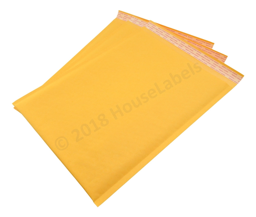 """#5 10.5x16 KRAFT BUBBLE MAILERS SHIPPING MAILING PADDED ENVELOPES 10.5/"""" x 15/"""""""