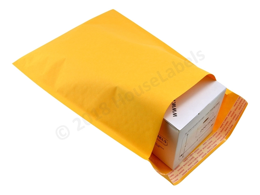"Picture of 100 Bags KRAFT Bubble Padded Envelope  10.5""x16"" (10.5""x15"" usable space) Free Shipping"