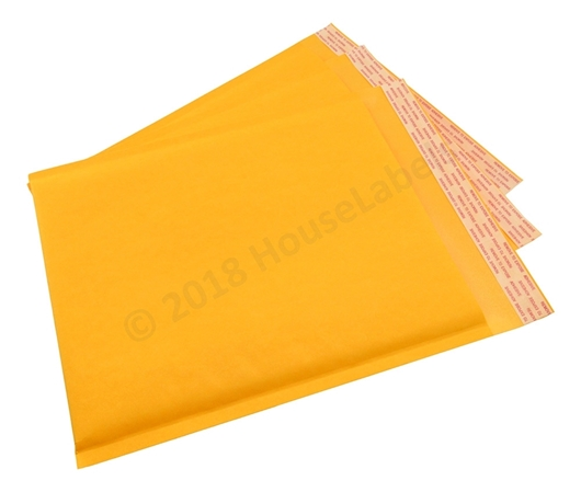 "Picture of 100 Bags KRAFT Bubble Padded Envelope 8.5""x12"" (8.5""x11"" usable space) Free Shipping"