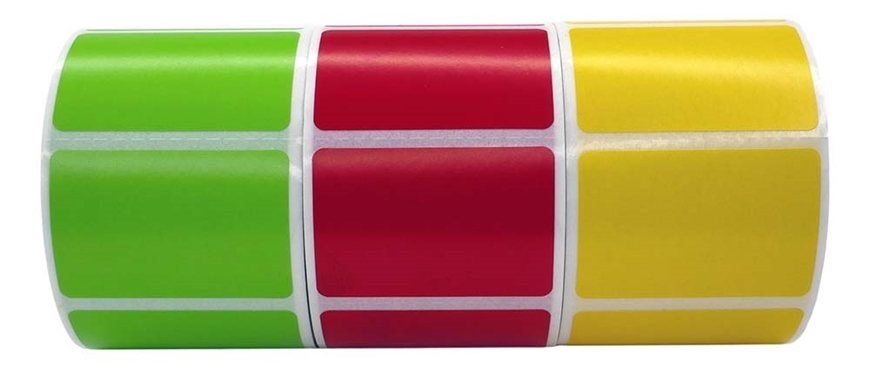 Picture of Zebra – 1.5 x 1 COMBO PACK (Your Choice 100 Rolls –Yellow Green Red White – Shipping Included)