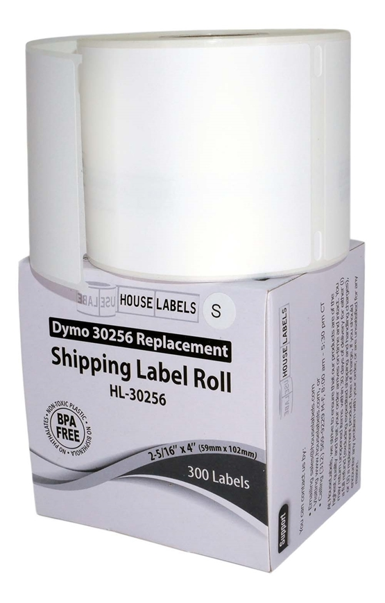 Picture of Dymo - 30256 Shipping Labels in Polypropylene (34 Rolls – Shipping Included)