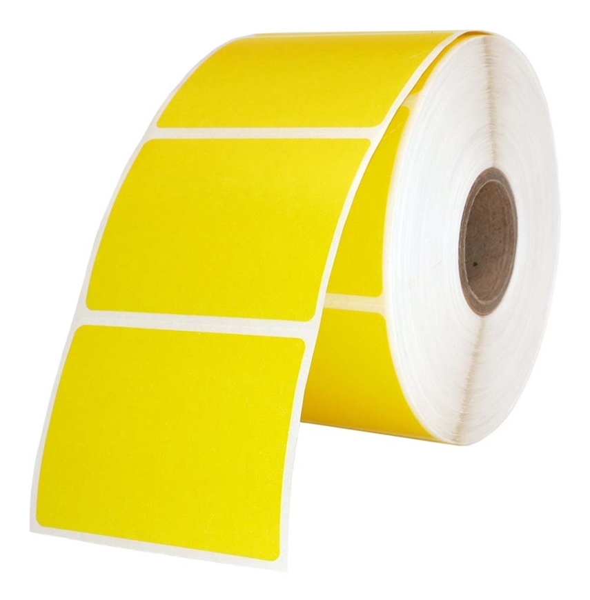 Picture of Zebra – 2 x 1.5 YELLOW (16 Rolls – Shipping Included)