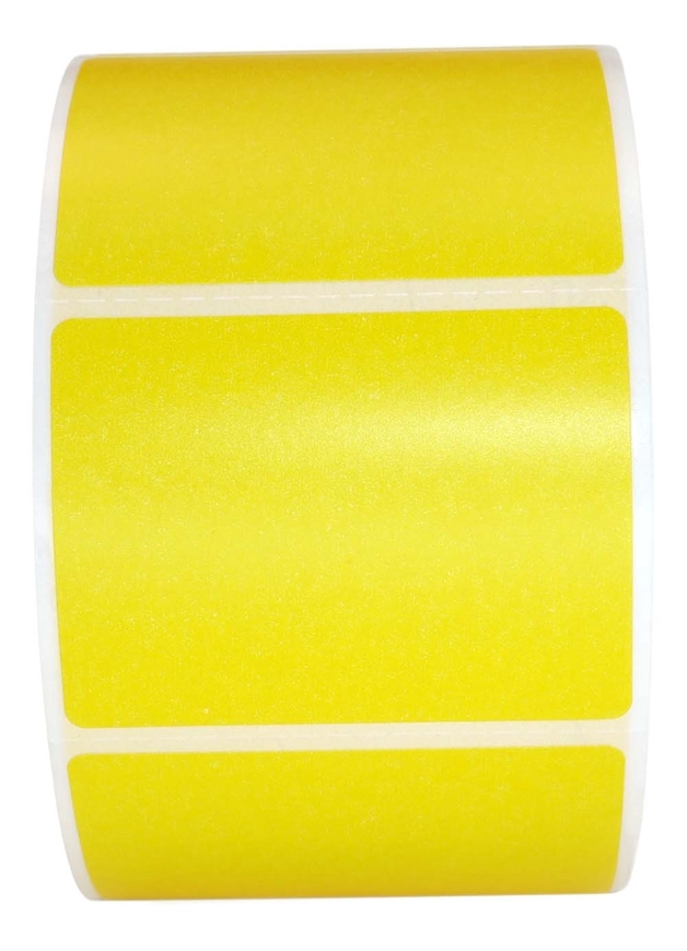 Picture of Zebra - 2x1.5 YELLOW (36 Rolls -  FREE SHIPPING)