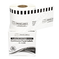 Picture of Brother DK-2205 (50 Rolls – Shipping Included)