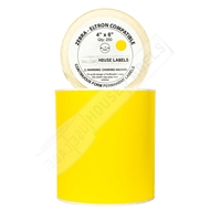 Picture of Zebra – 4 x 6 YELLOW (4 Rolls – Shipping Included)