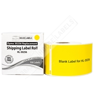 Picture of Dymo - 30256 YELLOW Shipping Labels (12 Rolls – Shipping Included)