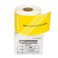 Picture of Dymo - 30256 YELLOW Shipping Labels (18 Rolls – Shipping Included)