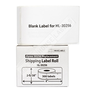 Picture of Dymo - 30256 Shipping Labels (8 Rolls – Shipping Included)