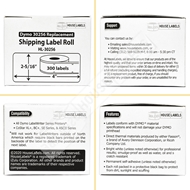 Picture of Dymo - 30256 Shipping Labels (12 Rolls – Shipping Included)