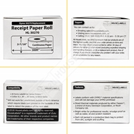 Picture of Dymo - 30270 Direct Thermal Receipt Paper (12 Rolls – Shipping Included)
