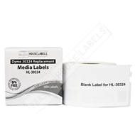 Picture of Dymo - 30324 Media (Diskette) Labels (10 Rolls – Shipping Included)