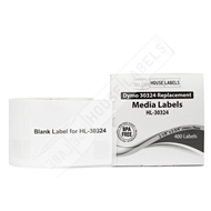 Picture of Dymo - 30324 Media (Diskette) Labels (18 Rolls – Shipping Included)