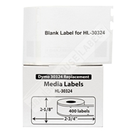 Picture of Dymo - 30324 Media (Diskette) Labels (30 Rolls – Shipping Included)