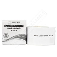 Picture of Dymo - 30324 Media (Diskette) Labels (50 Rolls – Shipping Included)
