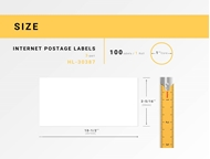 Picture of Dymo - 30387 3-Part Internet Postage Labels (18 Rolls – Shipping Included)