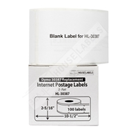 Picture of Dymo - 30387 3-Part Internet Postage Labels (50 Rolls – Shipping Included)